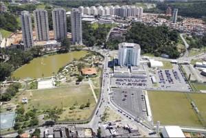 Vista aérea Parque Barueri