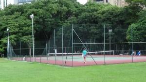 Quadras de Tênis Parque Villa Lobos