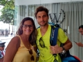 Chris Ramalho e David Ferrer