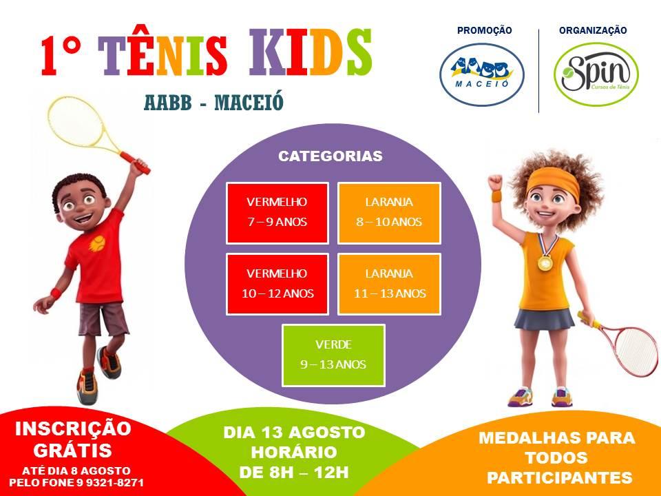 1o Tênis Kids